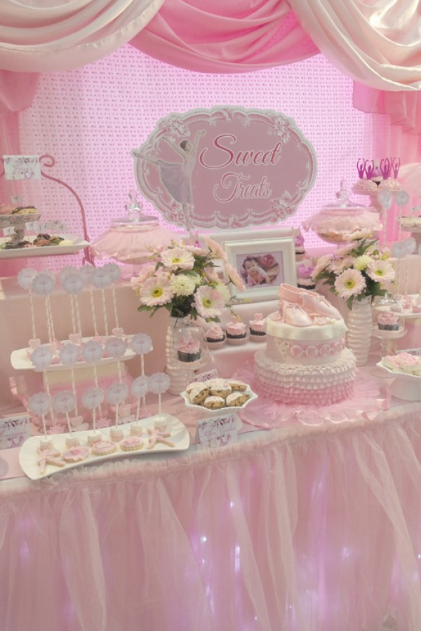 Ballerina Dessert Table - 03