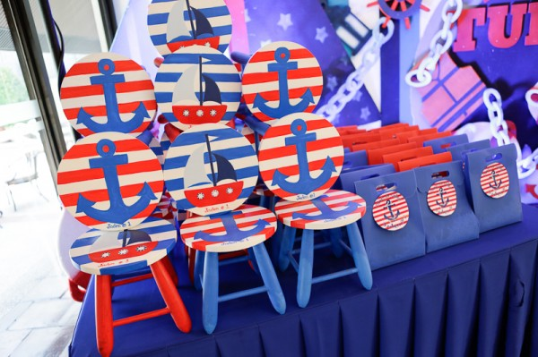 Nautical Themed Birthday Party - 13