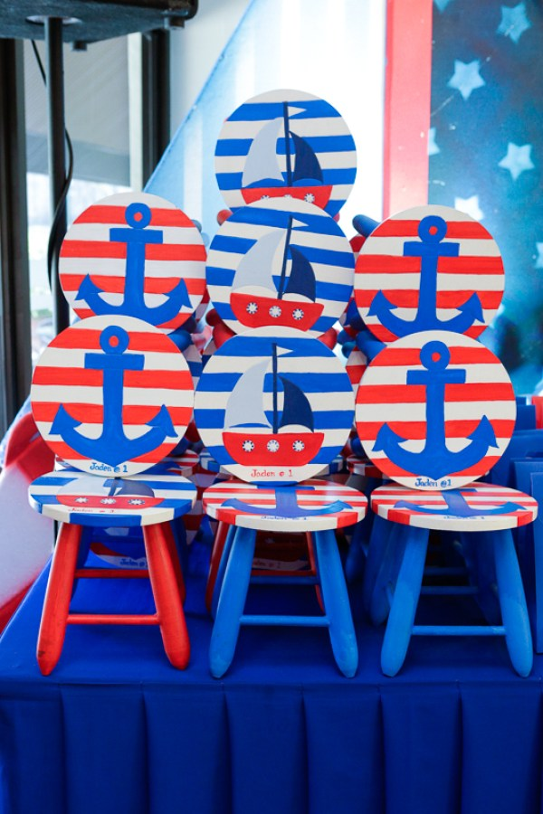 Nautical Themed Birthday Party - 22