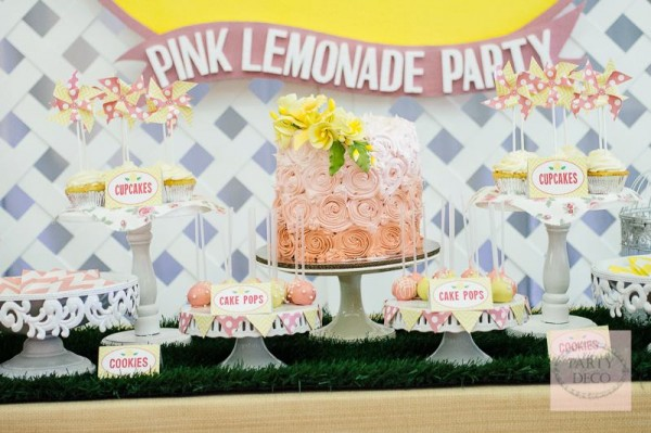 Pink Lemonade Party - 13
