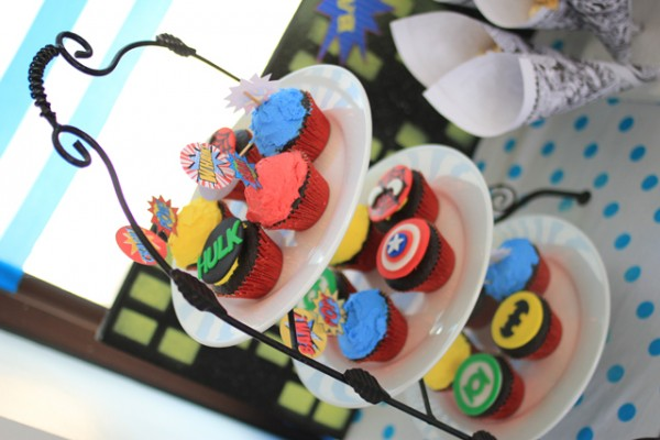 Superheroes Birthday Party - 03