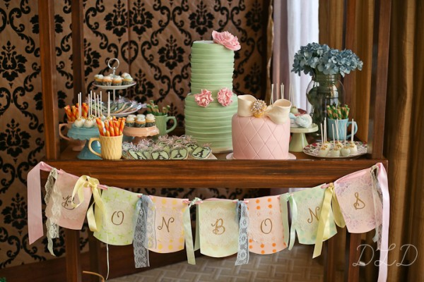Parisian Themed Baptism - 19