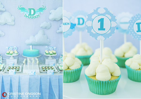 Heaven and Angel Themed Birthday Party - 01