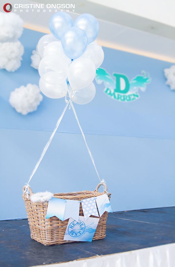 Heaven and Angel Themed Birthday Party - 08