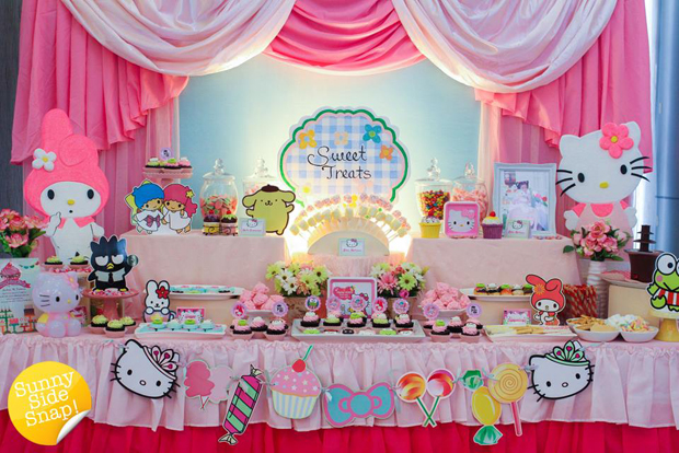 Sanrio Dessert Table