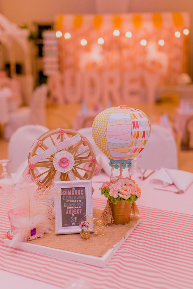 Vintage Pastel Carnival Party - 18