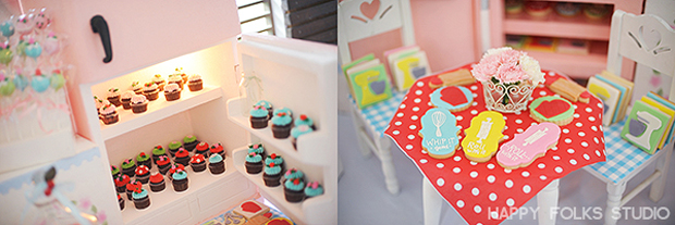 Retro Kitchen Birthday Party - 26
