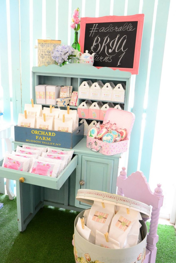 Cath Kidston Shabby Chic Birthday Party - 19