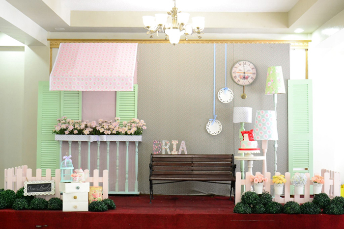 Cath Kidston Shabby Chic Birthday Party - 24