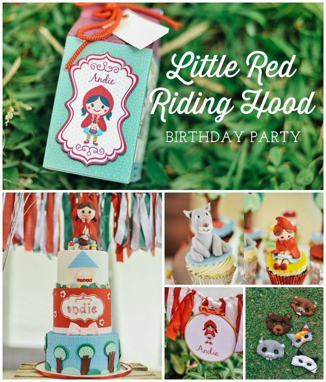 Little Red Riding Hood Birthday Party Ideas