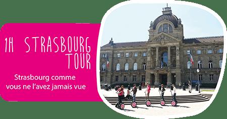 Tour de 1H à segway Strasbourg