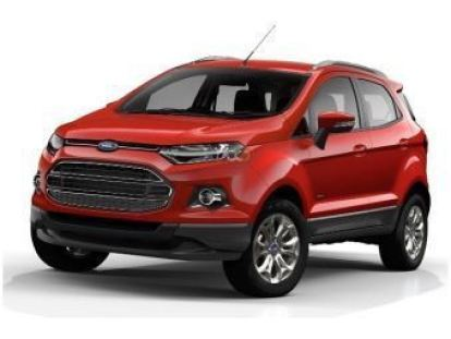 Red Ford Ecosport Dubai UAE