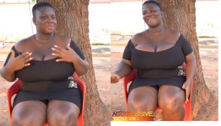 """""""The Way I Have Get Money With My Big B()()bs Nu Ong"""" Only God Knows – Actress Agyeiwaa (Yie Yie) (Watch Video)"""