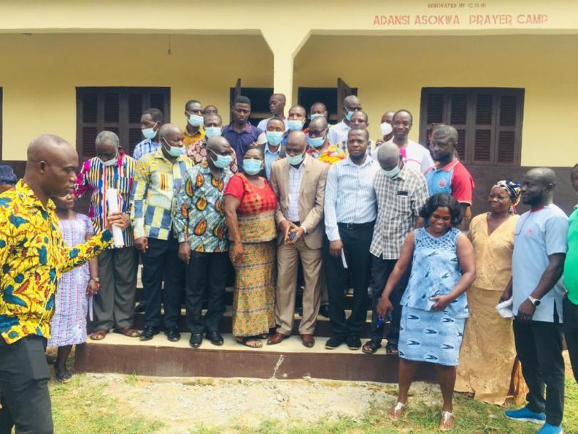 Church Of Pentecost Adansi Asokwa Prayer Camp, Helped Renovate Adansi Asokwa KG Building and Rededicated