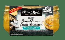 Marie Morin-Crumble ananas coco-110g-FACE