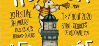 Le festival Humour et eau salée à St georges de Didonne ouvre ses portes du 1 au 7 août