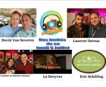 Voici nos podcasts de notre émission de ce lundi 6 juillet spécial Camping Paradis, La deryves et David Van Severen