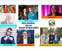 Sara Mortensen, Julie de Bona, Magalie Vaé et Vincent Dedienne ce lundi 17 mai dans Chut on écoute la télé