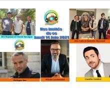 Alex Lutz, Vincent Macaigne, Philippe Bas, Camille Combal ce lundi 14 juin dans Chut on écoute la télé