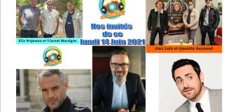 Voici nos podcasts de Chut on écoute la télé de ce lundi 14 juin avec Alex Lutz, Philippe Bas, Camille Combal et Vincent Macaigne