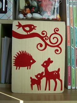 Velvet Sticker Wall Art