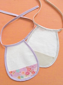 Easy Bias Tape Bib