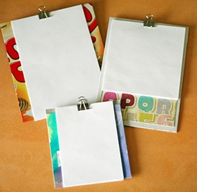 Make Your Own Clipboards