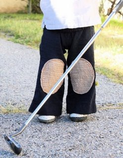 How to Sew Knee Pad Pants