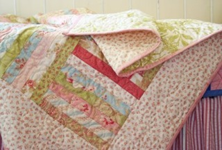 Baby Girl Quilt Tutorial