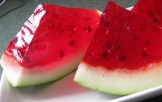 gourmetmomwatermelonjello