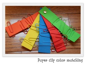 homeschoolcreationspaperclipcolormatching