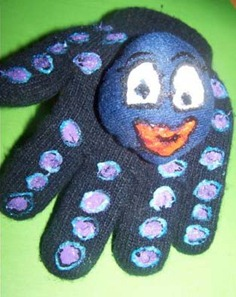 Sea Monster Glove Tutorial