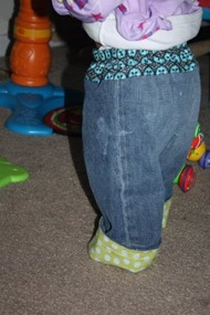 Jeans to Kid Pants Tutorial