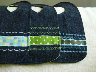Repurposed Jeans to Bib Tutorial