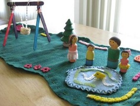 Felt Playscapes Inspiration