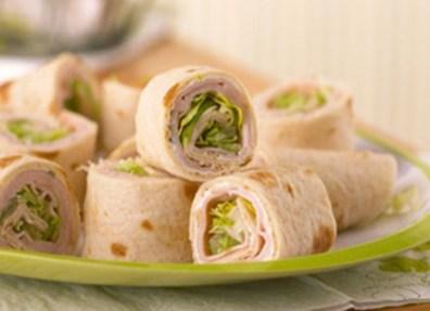 lunch turkey roll-ups