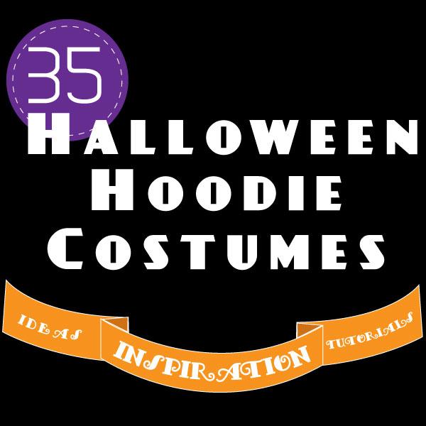 35 DIY Halloween Hoodie Costumes