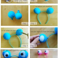 Googly-Eyed Headband Tutorial