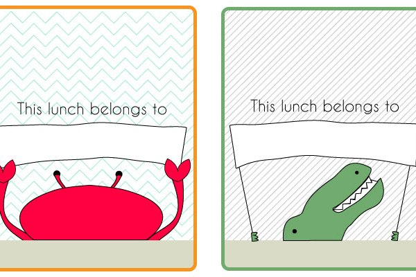 Sack Lunch Field Trip Stickers (Part 1)