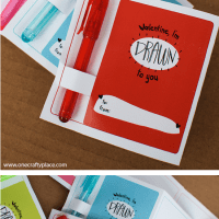 Drawn to You Printable Valentines for Kids
