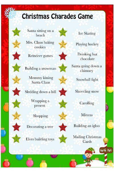 Fun Christmas Party Games Christmas Games Ideas For