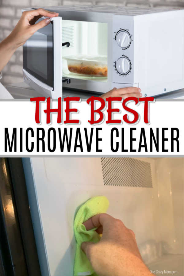 how to clean microwave with vinegar