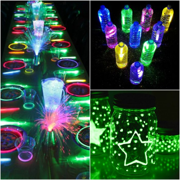 Glow In The Dark Party Ideas 20 Glow In The Dark Birthday Party Ideas