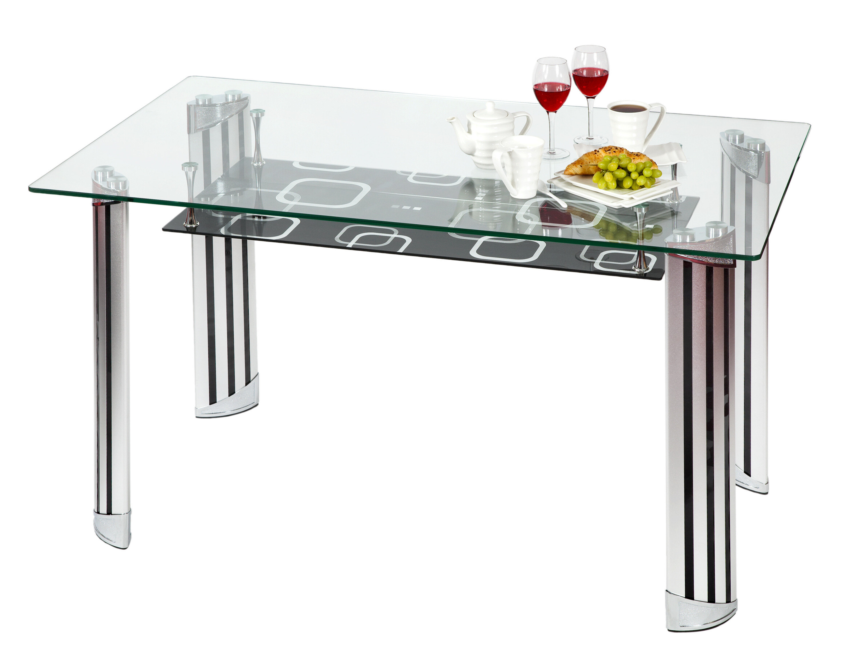 Frost Glass Dining Table
