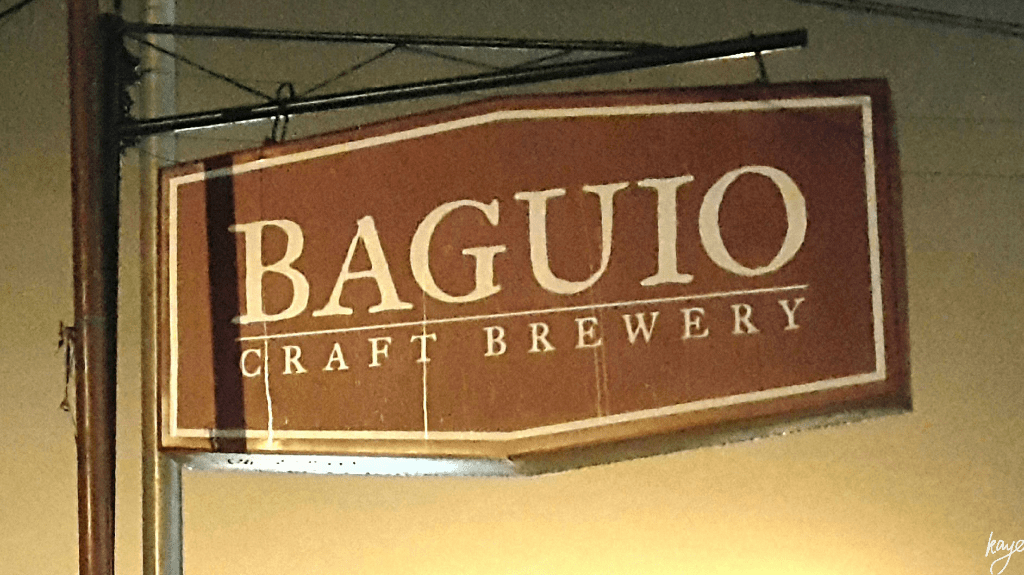 Baguio Craft Brewery on MacArthur Highway