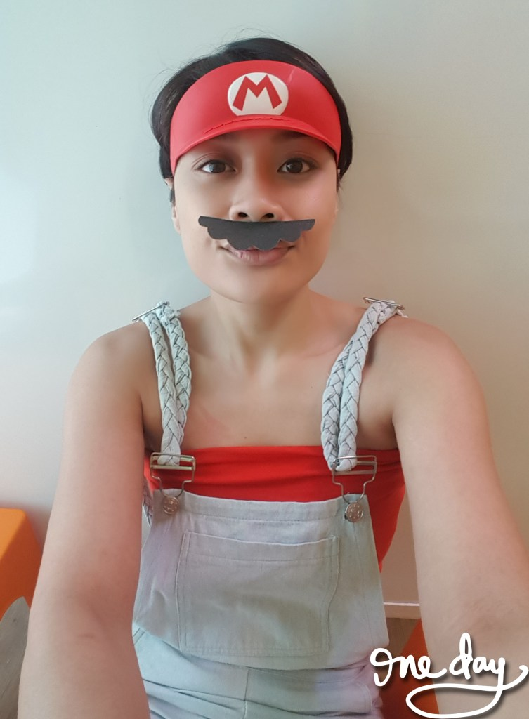 Mario visor from McDonald's Happy Meal a few years back 😁