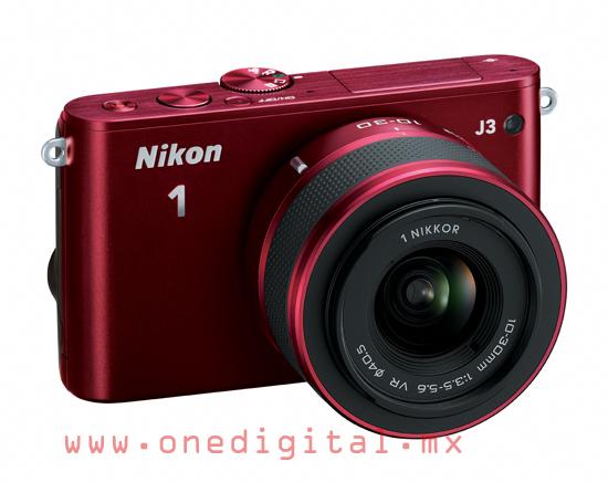 Nikon 1 J3 Roja