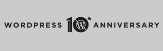 Wordpress 10 years