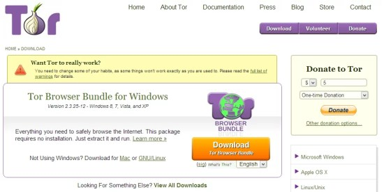 Download Tor