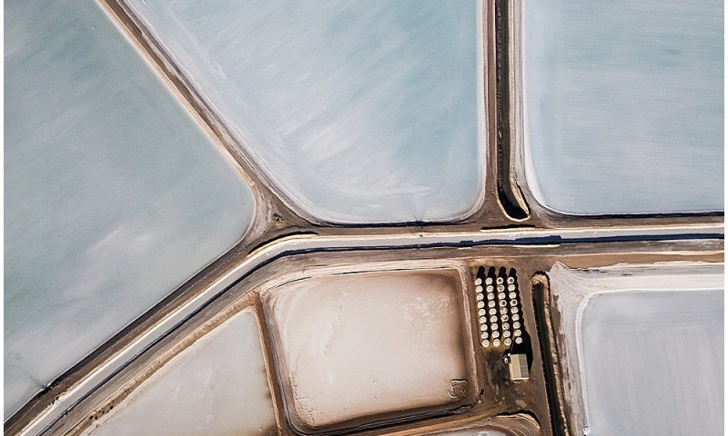 Salt Flats Aerial Photography
